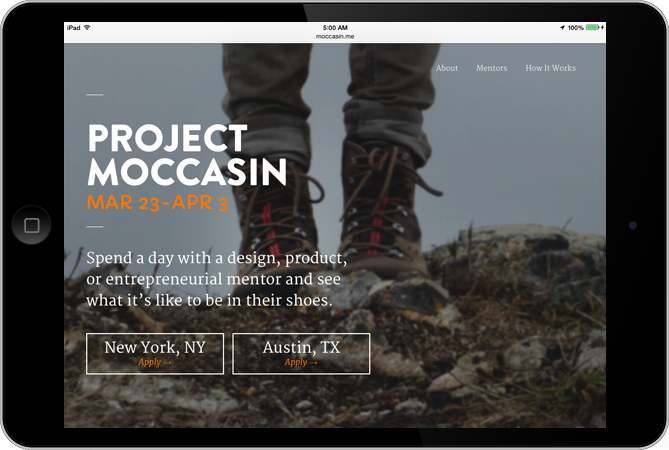 Project Moccasin